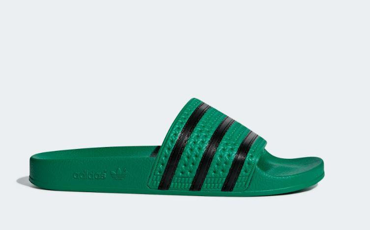CM8443 Adidas Adilette slipper | groenzwart | Adidas