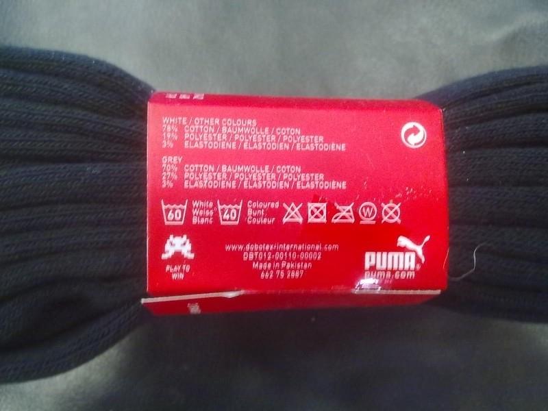 Puma sneakersok wit mt 35 tm 49 3 pack | Heren | JKN Sport