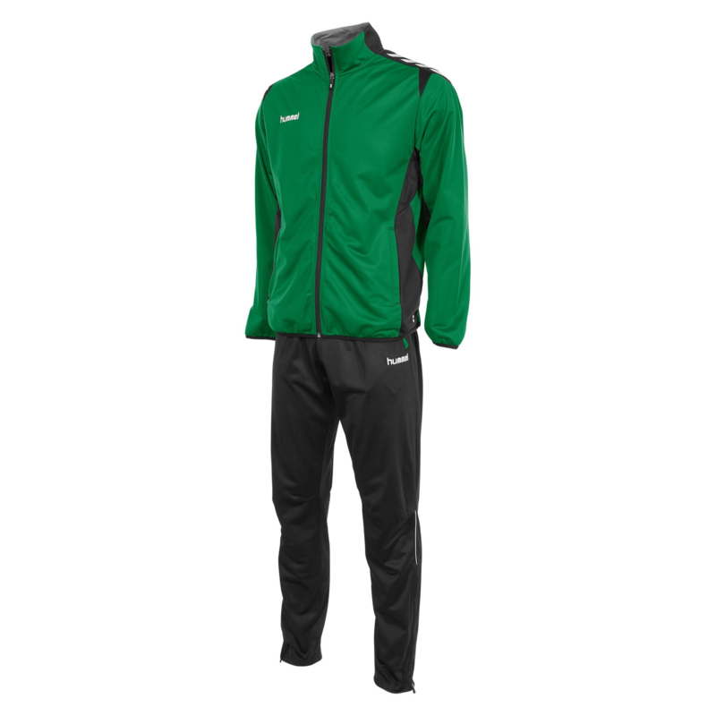 Hummel Paris Polyester Suit groen/zwart (105105-1800)