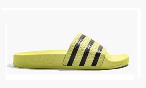 CM8494 Adidas Adilette slipper | geel/zwart | Adidas ...