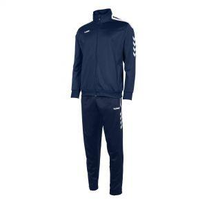Hummel Valencia poly suit navy/wit (105006-7200)