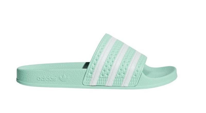 CG6538 Adidas Adilette slipper | mintgroen | Adidas Adilette ...
