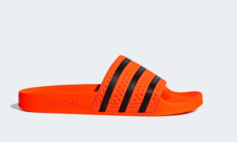 CM8442 Adidas Adilette slipper | oranje/zwart | Adidas ...
