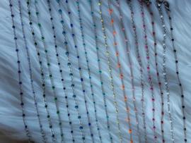 rvs armbandjes met gekleurde emaille 3 voor 15,-