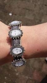 mooie leren armband met fotokralen