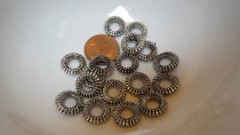 10 metallook ringetjes