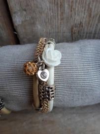 Armband enkel zand
