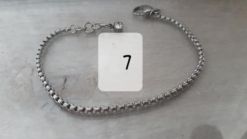 RVS armband 7