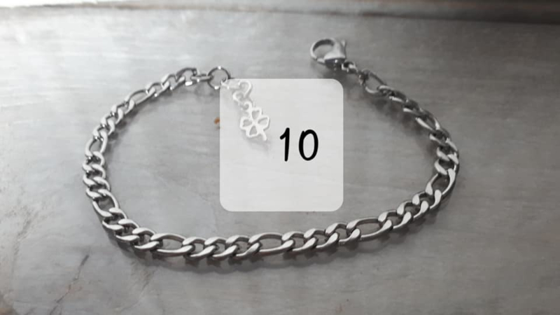 RVS armband 10