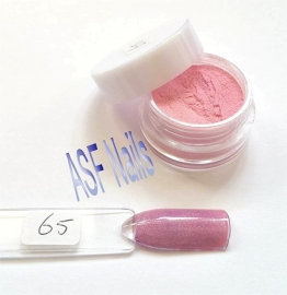 65 Color acryl Frozen Rose (met parelmoer)