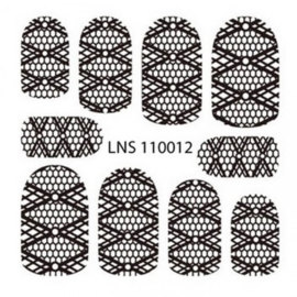 lns-11012 Metal Filigree sticker