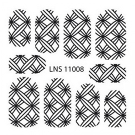 lns-11008 Metal Filigree sticker