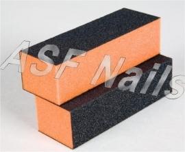 Zwart/Orange blok 100/180