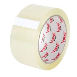 Tape pp acryl transparant 28my 48 mm x 66 meter