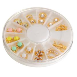 nail jewels (12 items - van elk 2st.)
