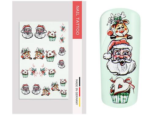 NailArt Tattoo Christmas II
