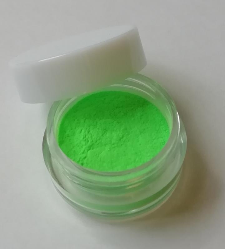 53 acryl color Neon groen zonder glitters
