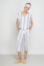 Jungle Folk - Trousers Handwoven - light blue