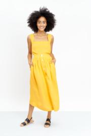 Jungle Folk - Rachel top - Banana yellow