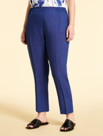 MARINA RINALDI - LINE TROUSERS - CHINA BLUE
