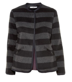 Gazel - Jacket wool stripes