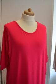 Qneel - Jersey dress - Oversize - Pink