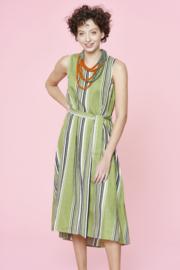 Gazel - Dress Gelib - Grey stripes