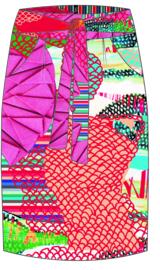 MLY by Emily Hermans - Silk skirt