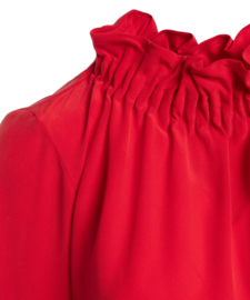 NH - Silk Blouse - Red