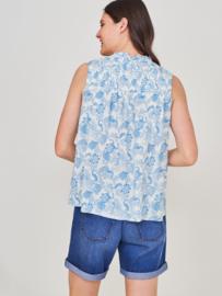 White Stuff - Deeba top - bright blue