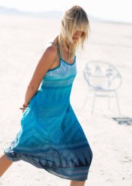 Oneseason Australia - Beach Dress - Antoinette Turquoise