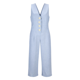 Rhumaa - Jumpsuit  wonder - blue melange