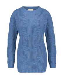 Mara May - pull fantasie knit - kobalt