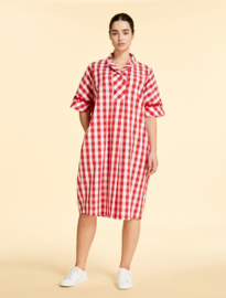 Marina Rinaldi - Dress  cotton - red