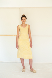 Suite13 - Dress Gina - Beeswax stipes
