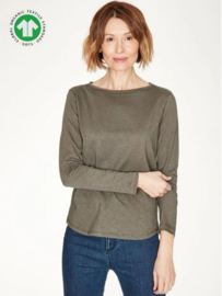 THOUGHT - organic  t'shirt - Taupe
