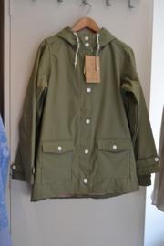 Derbe - Peninsula Vichy Women's Rain Jacket Light Olive