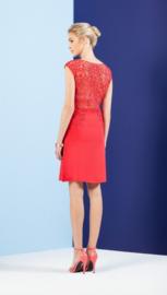 Leo & Ugo red A - Line Dress