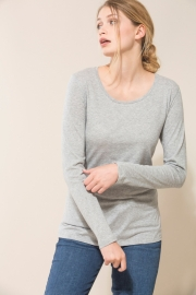Lanius - Longsleeve organic cotton - Grey