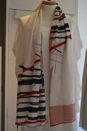 Qneel - Scarf - Silk/Cotton