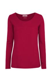 Lanius longsleeve organic cotton - red