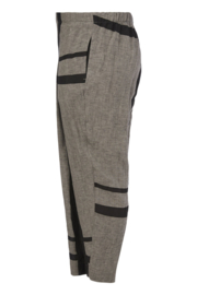 QNeel - Trousers relaxed fit - frost grey