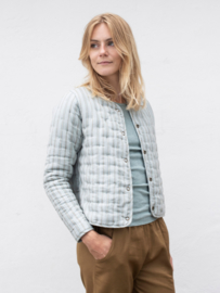 Serendipity - Quilt jacket  - Seagrass