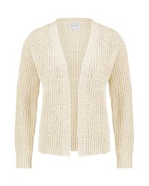 Mara May - Cardigan fantasy knit - Sand