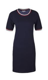 Ze-Ze Cotton Dress - Blue