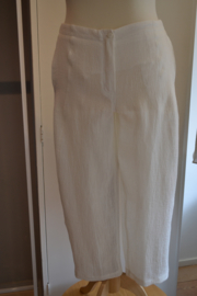 Qneel - linnen crunch trousers