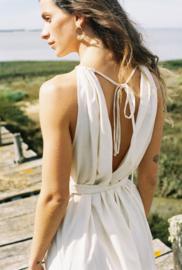 Jungle Folk - Ella Dress - Ivory - Silk