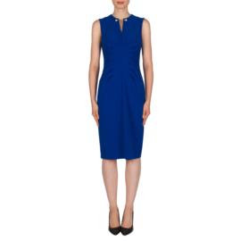 Joseph Ribkoff  - blue pearl dress