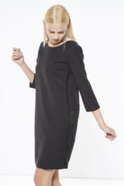 Gazel - Dress Black side sequins