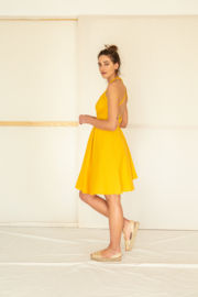 Suite 13 - Daphne dress - yellow - One size